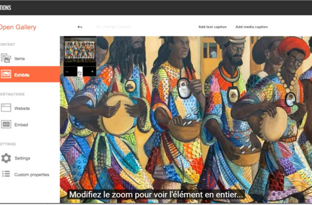 Portfolio de l'agence de communication digitale Little Beez : Tutoriels vidéo Google Open Gallery