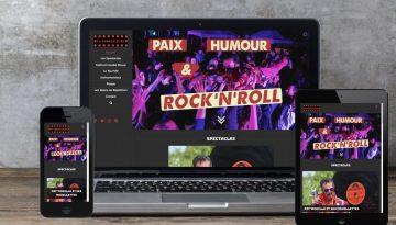 L'agence Web Bretonne Little Beez a entièrement créé le site internet de la compagnie d'arts de rue Progéniture